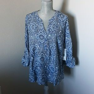 Notations blouse size 2x